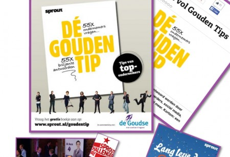 De Goudse content marketing Projects Tips in boekjes