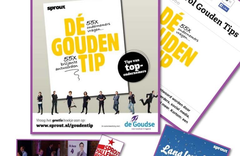 De Goudse content marketing Projects Tips in boekjes